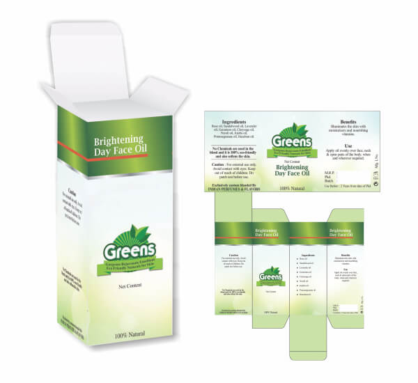 Packaging of GREENS