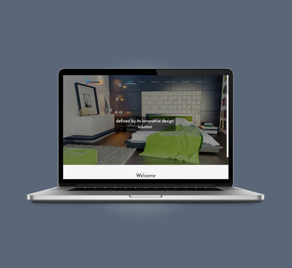 Web Design of Yansshe Interiors